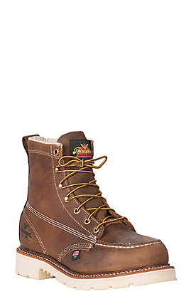 "Thorogood American Heritage Men's Moc Steel Toe 6"" Lace Up Work Boots"