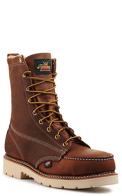 b1c2217a163 Thorogood American Heritage Men's Moc Steel Toe 8