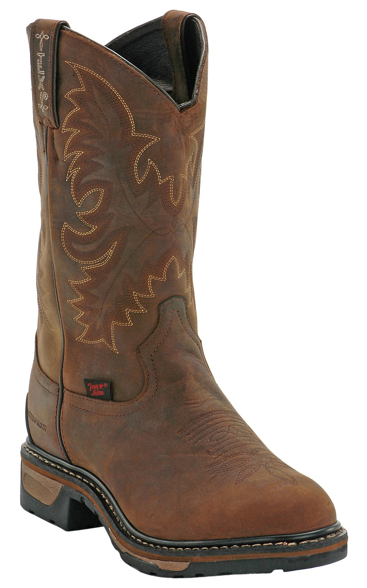 Tony Lama Mens Cheyenne Waterproof Steel Toe Work Boot | Cavender's