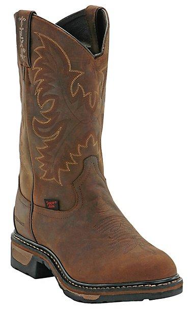 Tony Lama Mens Cheyenne Waterproof Steel Toe Work Boot | Cavender's