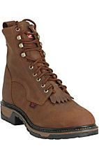 TLX Western Work Men's Tan Cheyenne  Steel Toe