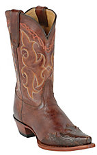 Tony Lama Ladies Vaquero Clay Santa Fe Wingtip Western Boot