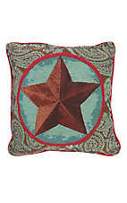 Manual Woodworkers & Weave Classic Lone Star Throw Pillow