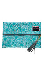 Makeup Junkie Teal McCoy Medium Makeup Bag