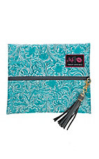 Makeup Junkie Teal McCoy Small Makeup Bag