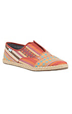 TOMS Women's Cayenne Multi Stripe Slip on Casual Shoe