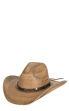 Cavender's Ranch Collection Palm Leaf Cowboy Hat