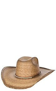 Cavender's 15X Dark Palm with Leather Band Cowboy Hat