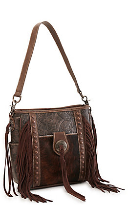Trinity Ranch Fringed Concealed Carry Crossbody Bag
