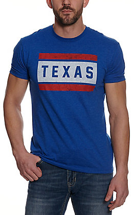 Tumbleweed Texstyles Men's Royal Blue Texas Short Sleeve T-Shirt