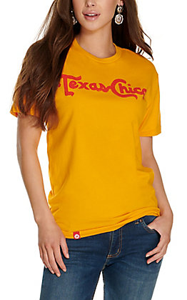 Tumbleweed Texstyles Women's Gold Texas Chica Short Sleeve T-Shirt