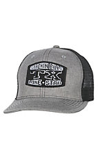 Stackin Bills Grey and Black TX Lone Star Patch Cap