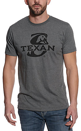 Stackin Bills Men's Grey Texas Tea Short Sleeve T-Shirt