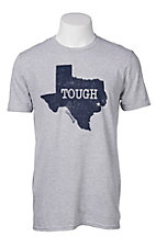 Cavender's Grey Texas Tough Short Sleeve T-Shirt