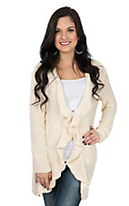 Umgee Women's Cream Natural Knit Cardigan