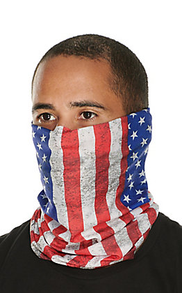John Boy American Flag Face Guard