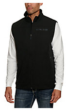 Cinch Men's Black with Grey Logos Bonded Vest