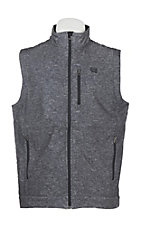 Cinch Men's Grey Printed Bonded Vest