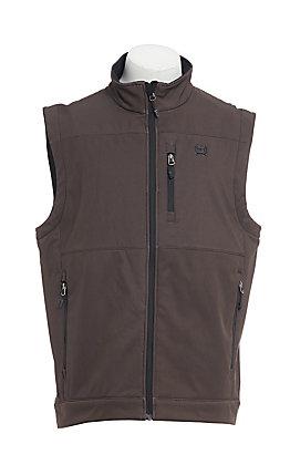 Cinch Men's Brown Concealed Carry Pocket Bonded Vest