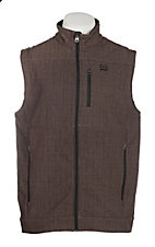Cinch Cavender's Exclusive Men's Brown Bonded Vest