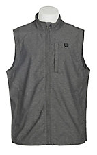 Cinch Men's Grey Twill Light Weight Cavender's Exclusive Vest