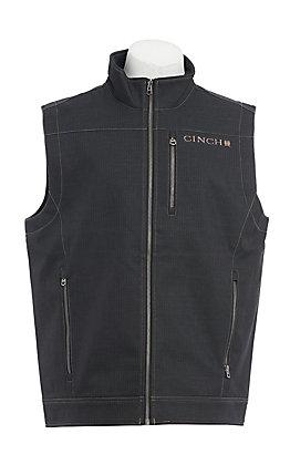 Cinch Men's Charcoal Bonded Vest