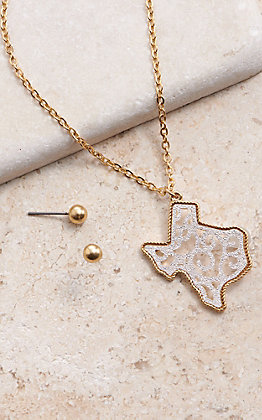 Amber's Allie Texas Filigree Necklace Set