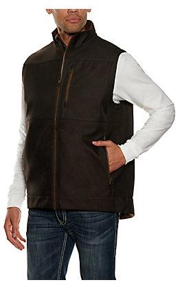Cinch Men's Brown Bonded Vest