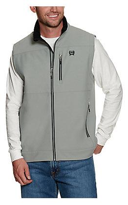Cinch Men's Grey Bonded Vest