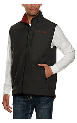 Cinch Men's Charcoal Houndstooth Vest