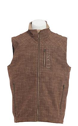 Cinch Cavender's Exclusive Men's Brown Bonded Vest