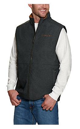 Cinch Men's Charcoal Concealed Carry Vest