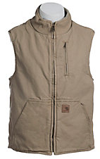 Carhartt Cottonwood Sandstone Lined Mock-Neck Vest