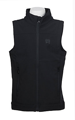 Cinch Boys' Black Bonded Vest