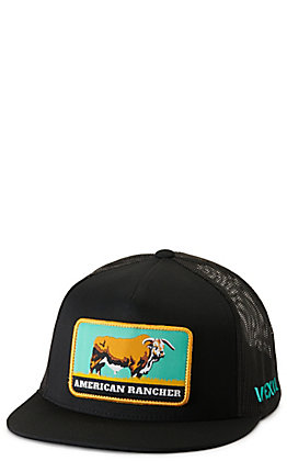 Vexil American Rancher Black with Patch Cap