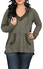 Another Love Women's Benson Olive Hoodie