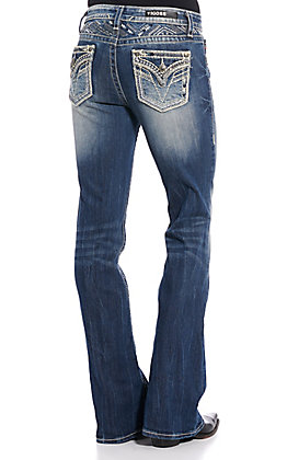 Vigoss Women's Kendra Boot Cut Jeans