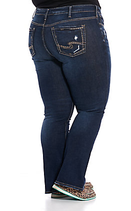 Silver Women's Elyse Boot Cut Jeans - Plus Size