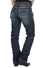 Rock & Roll Cowgirl Women's Boyfriend Straight Leg Jeans