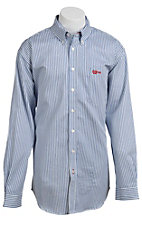 Cinch Men's Flame Resistant Stripe Workshirt  W3001001
