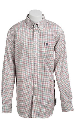 Cinch Men's Flame Resistant Check Workshirt W3001002