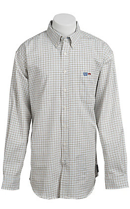 Cinch Men's Flame Resistant Check Workshirt W3001008