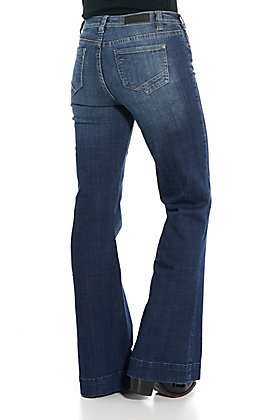 Rock & Roll Cowgirl Trouser High Rise Jeans
