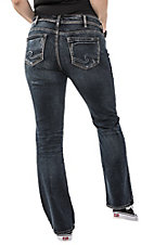 Silver Jeans Suki Slim Boot Dark Wash Plus Size Jeans