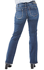 Silver Jeans Women's Elyse Slim Boot Cut Jeans - Plus Size