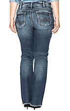 Silver Women's Medium Wash Suki Slim Boot Cut Jeans - Plus Size