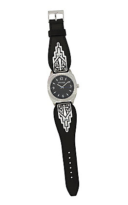 Montana Silversmiths Cross Gentleman's Dress Watch