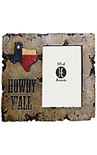 HiEnd Accents 4X6 Texas Howdy Y'all Picture Frame