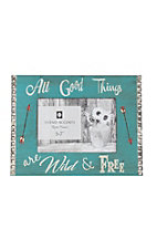 HiEnd Accents Teal All Good Things 5x7 Picture Frame