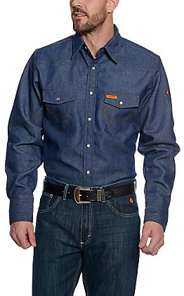 Wrangler Men's FR Denim Workshirt